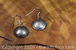 1920 & 1929 90% Silver Mercury Dime Earrings