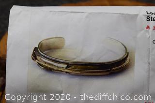 Sterling and 12k Gold Filled Bracelet
