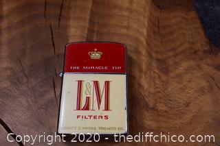 Vintage L&M Lighter