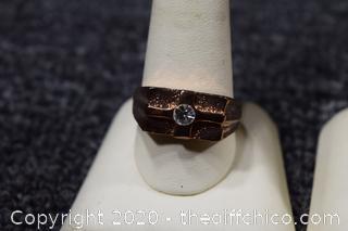 5 Men's Costume Jewelry Rings