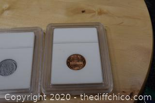 4 Lincoln Pennies