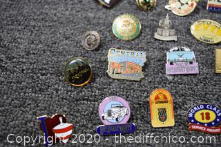 Lot of Pins