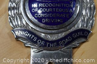 Vintage Car Badge
