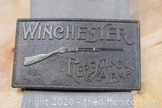 Winchester Belt Buckle