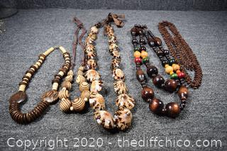 4 Tribal Necklace