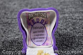 February Amethyst Necklace