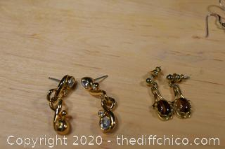 Mixed Lot of Earrings and More