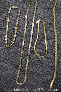 3 Bracelets and 3 Necklaces