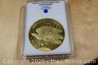 Historical Gold Eagle Replica