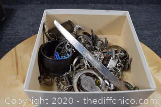 1.1 Pound of Scrap Silver - Sterling Silver and 925