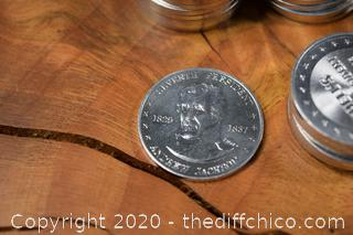 37 Shell's Mr. President Coin Game