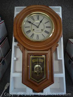 Regulator Wall Clock-wind up