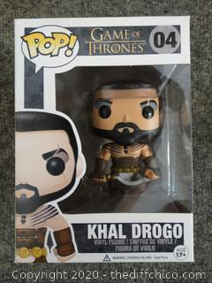 POP Game of Thrones Khal Drogo #4