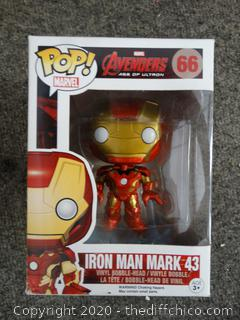 POP Marvel Avengers Iron Man Mark 43 #66