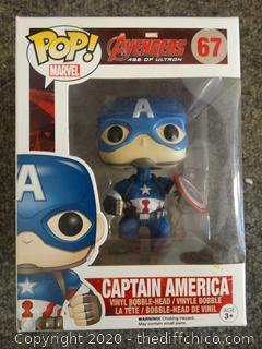 POP Marvel Avengers Captain America #67