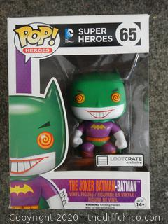 POP Marvel Super Heroes Joker-Batman Batman #65