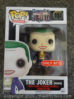 POP Marvel Heroes Joker (Boxer) #104