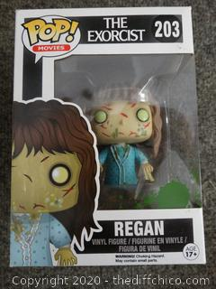 POP Movies The Exorcist Regan #203