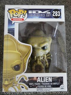 POP Movies Independence Day Alien #283