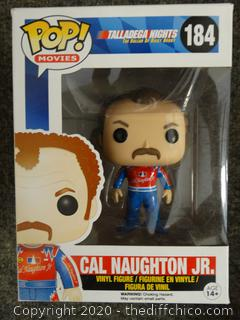 POP Movies Talladega Nights Cal Naughton Jr #184