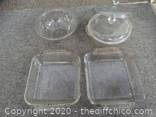 Pyrex and More Glassware