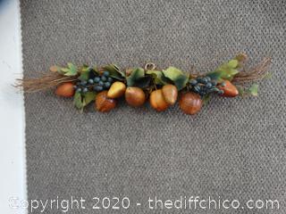 Set of 3 Fall Decorations
