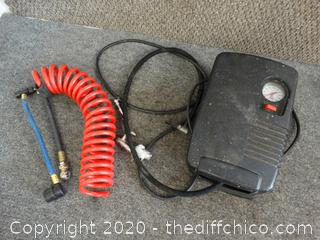 Working 12 Volt Compress Inflator 150PSI