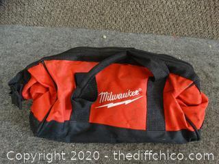 Milwaukee Tool Bag-broken zipper