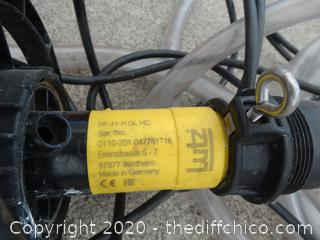 Working Lutz B28 Barrel Pump