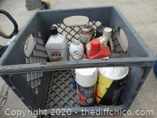 Crate of Chemicals