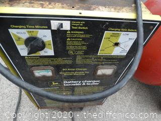 John Deere Battery Charger Booster and Tester-missing knob