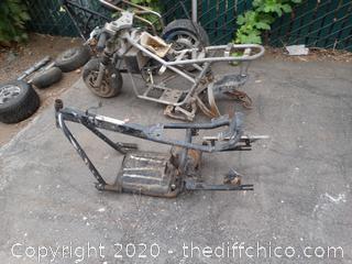 Mini Bikes Frames and Parts