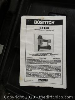 Bostitch Pneumatic Stapler Gun