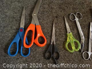 Lot of Scissors