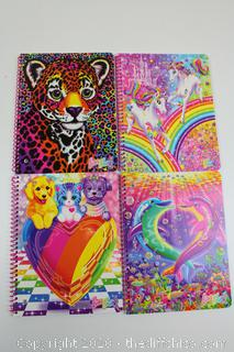 LOT OF 4 NEW 1 SUBJECT NOTEBOOKS