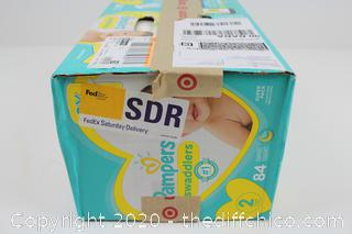 NEW Pampers Swaddlers Diapers SIZE 2 - 84 CT