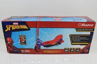 NEW Razor Spider-Man Power Core E90 Electric-Powered Scooter
