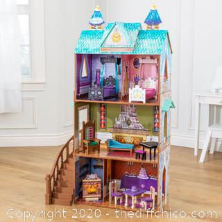 BRAND NEW Disney® Frozen Arendelle Palace Dollhouse By KidKraft with 12 Accessories Included
