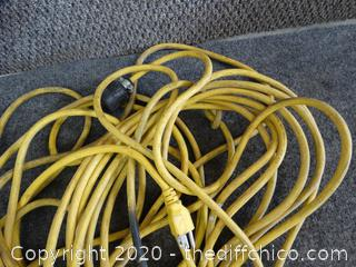 Yellow Extension Cord