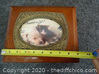 Cat Jewelry Box With Contents