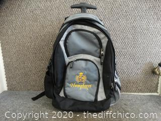 Rolling Humphreys College Back Pack