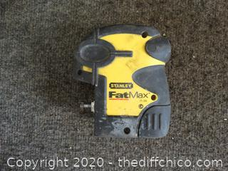 Stanley Fat max Untested No batteries