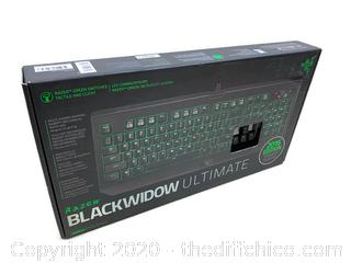 BRAND NEW Razer RZ03-01700200-R3U1 BlackWidow Ultimate 2016 Green Switches Gaming Keyboard