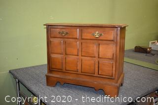 Lane Record Cabinet