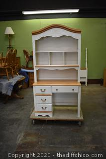 2 Piece Hutch / Desk