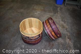 Decorative Barrel / Drum