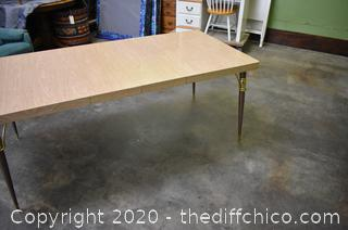 1950's Dining Room Table plus 2 leaves