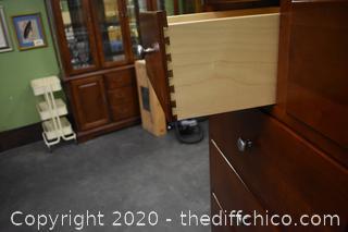 Stanley Tall Boy w/14 drawers