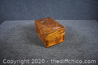 Oriental Teakwood Box