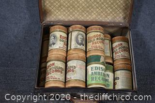 16 rolls of Vintage Edison Records